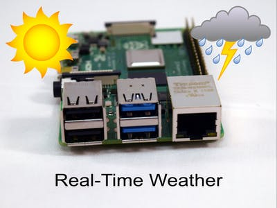 Real-Time Weather with Raspberry Pi 4