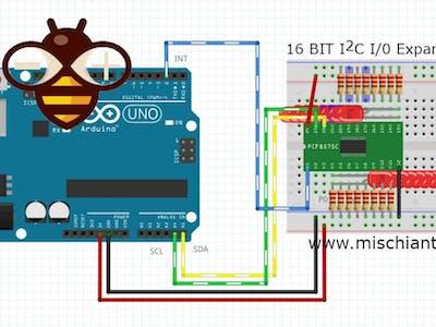 PCF8575 I2C 16-Bit Digital Input Output Expander