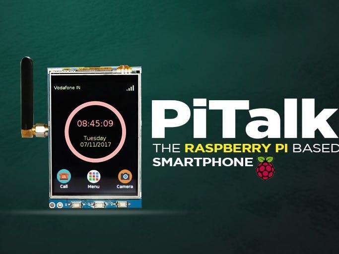 The Raspberry Pi-Based Smartphone