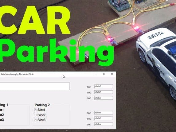 Car Parking Monitoring System Using Arduino and Visual Basic