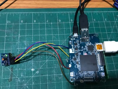 How to Interface Gyro Sensor with Odinub Board