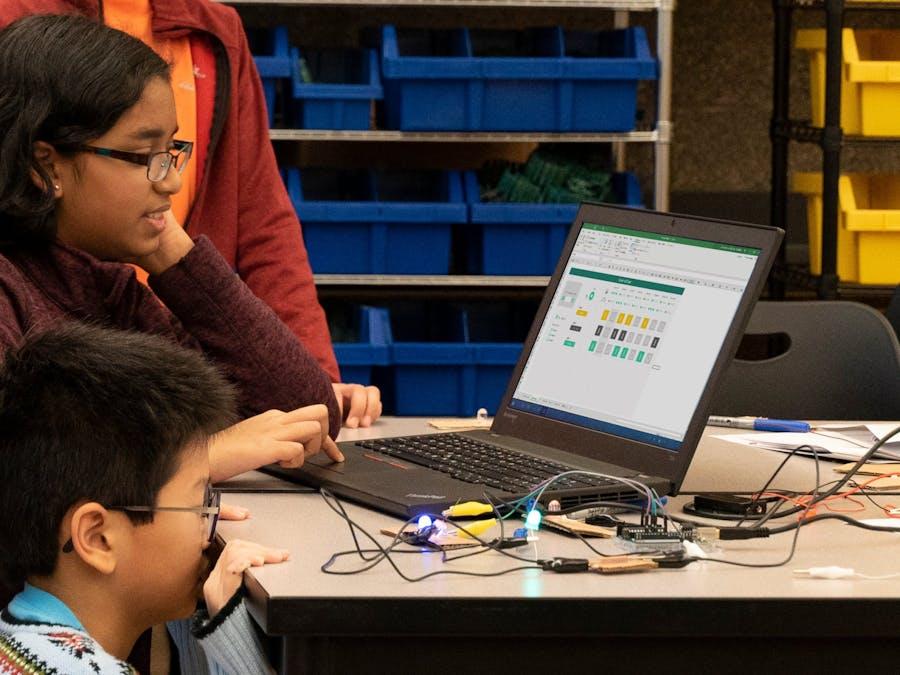 Hacking STEM LED light sequencer