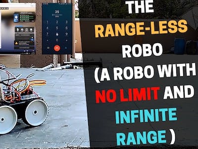 The Range-less ROBO (A Robot with No limit and Infinite Rang