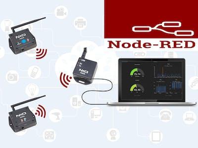 Displaying Sensor Data in Node-RED Dashboard