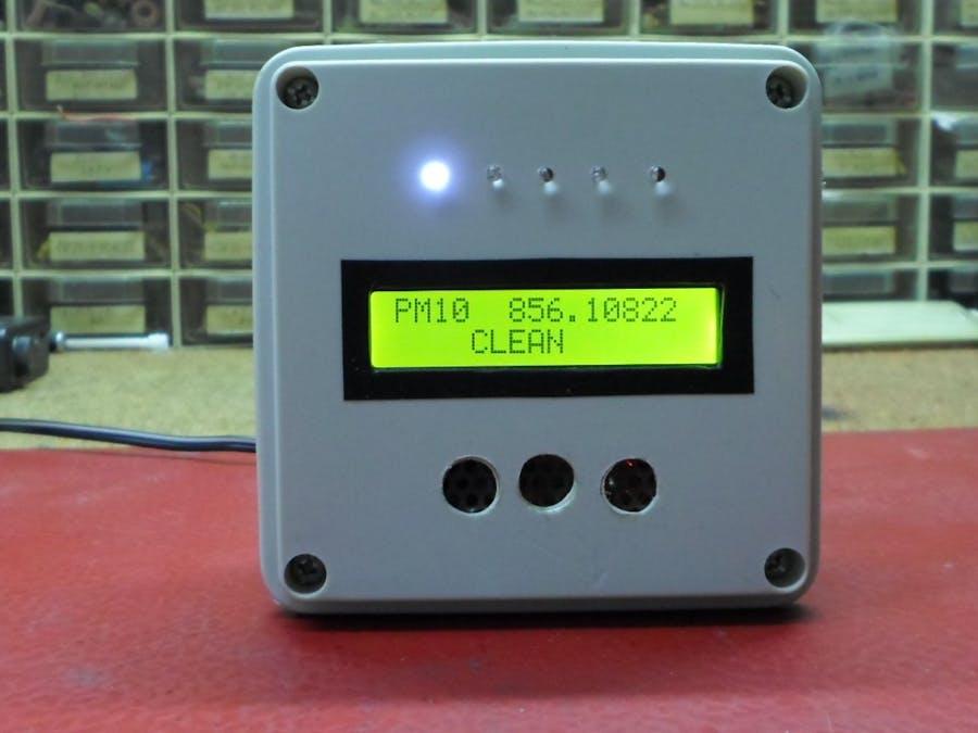 Arduino Air Quality Monitor with DSM501A Sensor