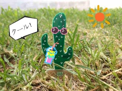 Cactus Saguaro Pin Badge