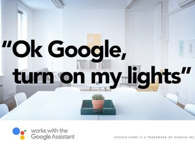 Controlling Lights Using Google Assistant and Bolt WiFi
