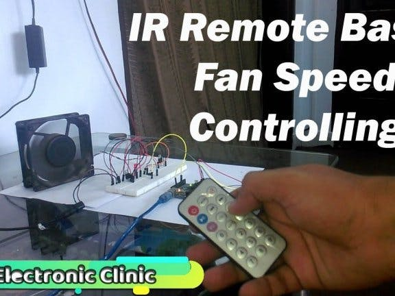 Arduino IR Remote based Fan speed controlling, Library ...