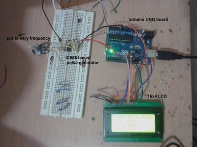 Frequency and Duty Cycle Measurement Using Arduino