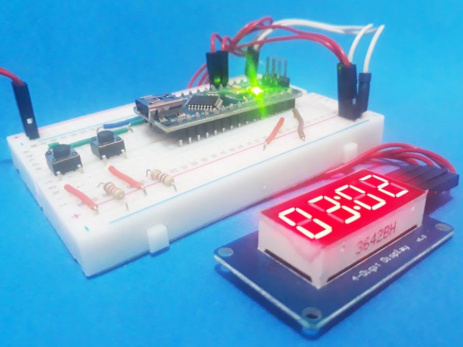 Creating an Electronic Scoreboard with Arduino