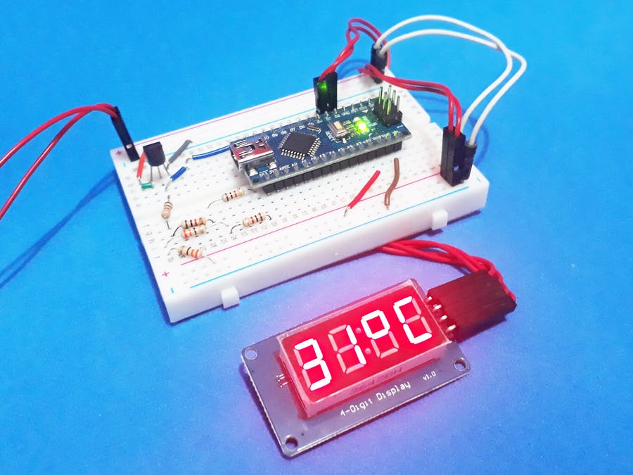 Temperature Indicator with Arduino - Arduino Project Hub