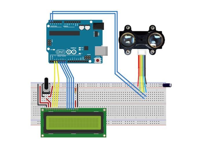Circuit Schematic for LiDAR-Lite