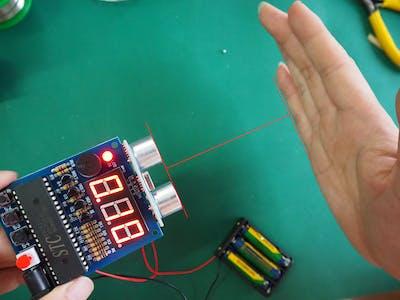 The Ultrasonic Ranging Display and Alarm Kit Helps!