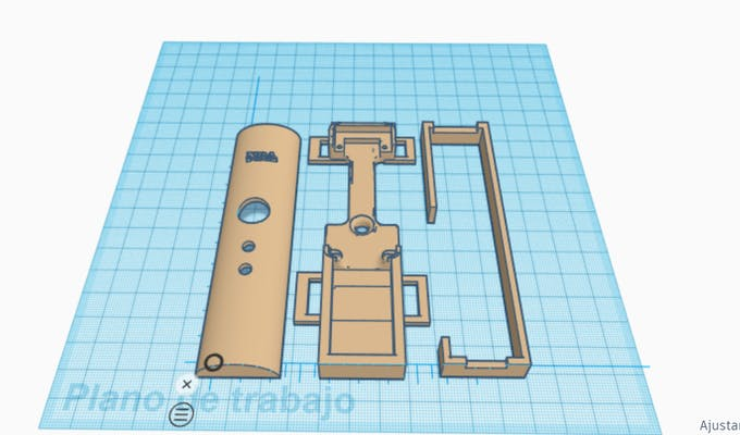 Design of NRA with TinkerCad