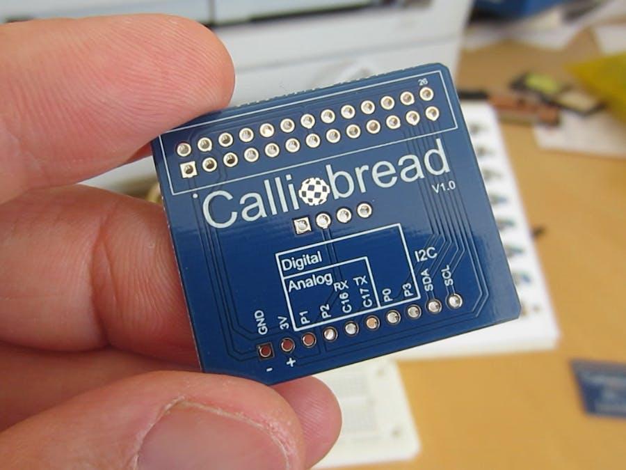 Calliobread Calliope Mini Breadboardadapter