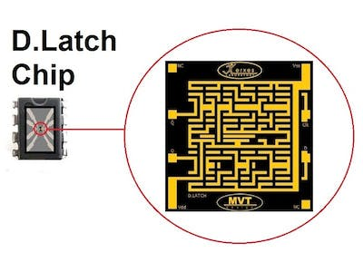 How to Design a D. Latch Flip-Flop Chip