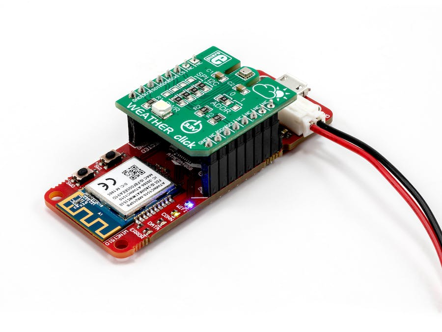 IoT Weather Sensor with AVR-IoT WG