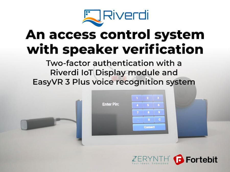An Access Control System with Speaker Verification