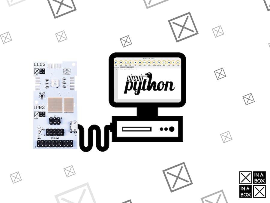 Loading CircuitPython Onto an XinaBox Programmable Core