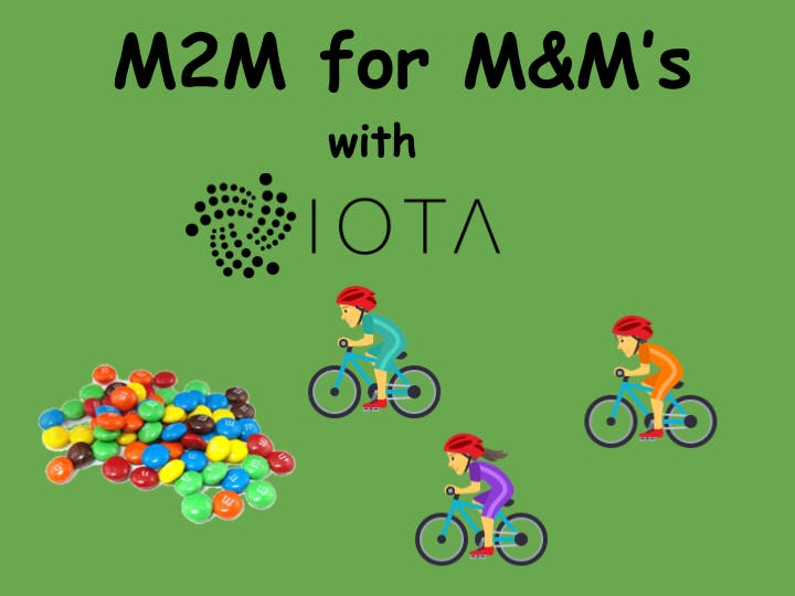 M2M for M&M's!
