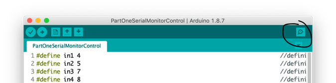Arduino IDE Serial monitor