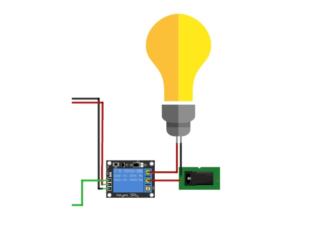 AC Load relay wiring