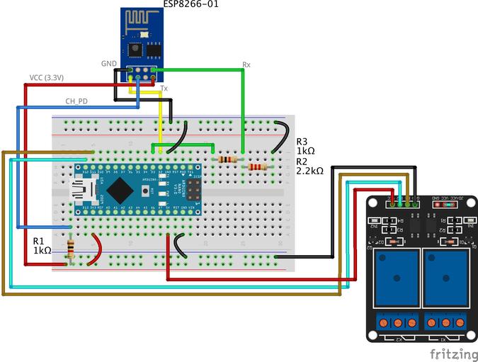Iot Using Esp8266 01 And Arduino Arduino Project Hub