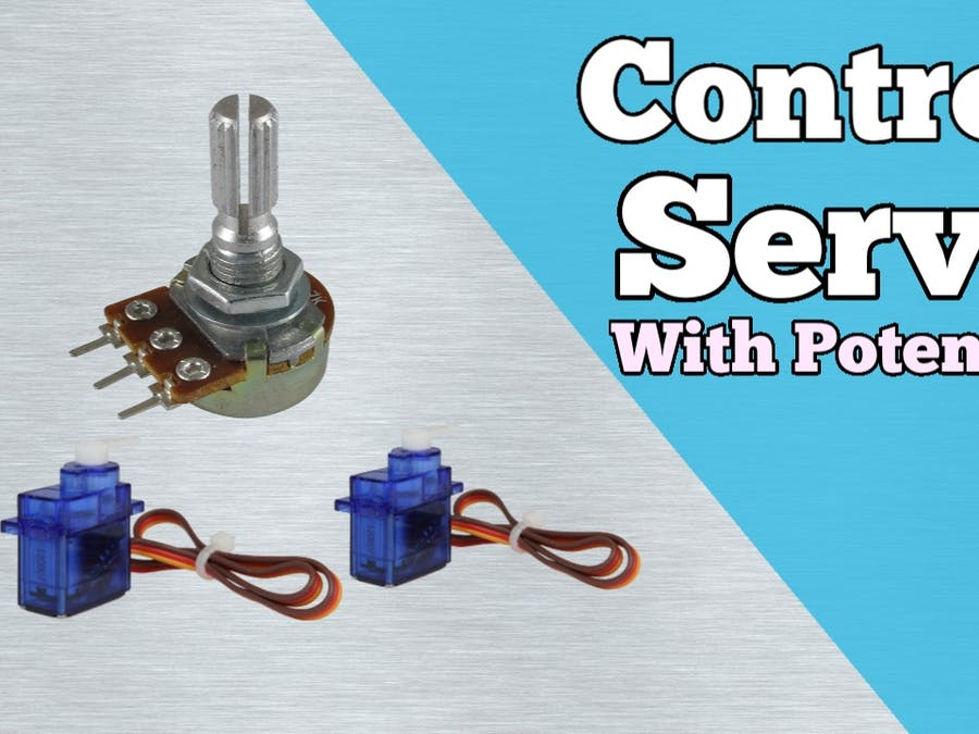 Servo Motor Control with Potentiometer