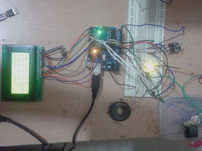 Temperature Controlled Fan with LCD Using Arduino