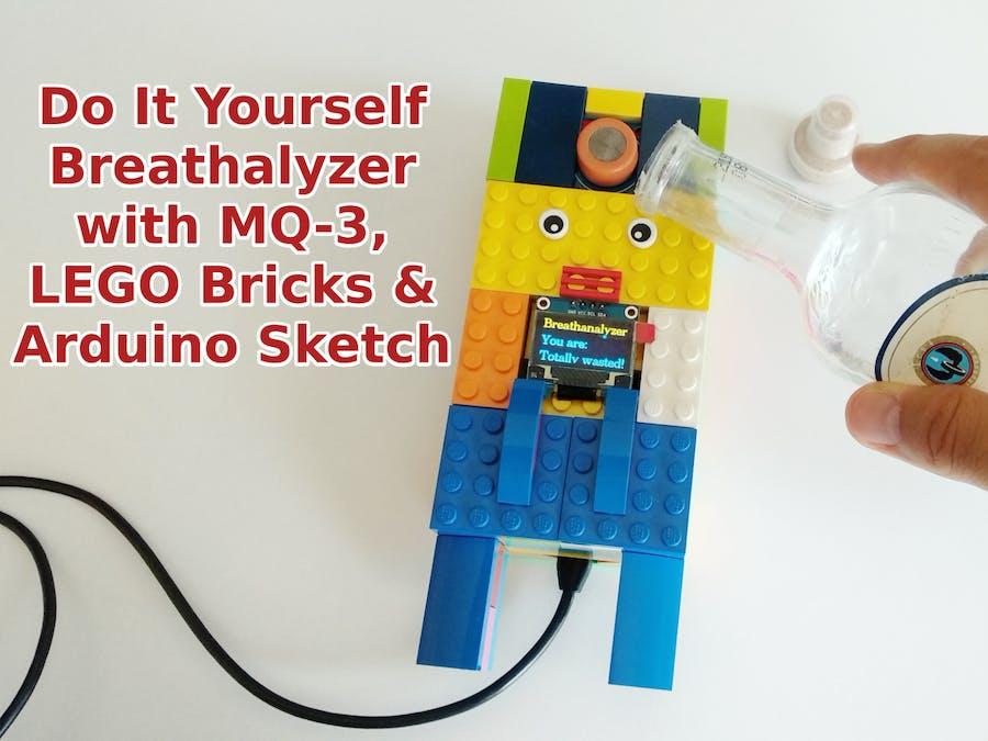 Do It Yourself Breathalyzer with MQ-3 & LEGO Bricks