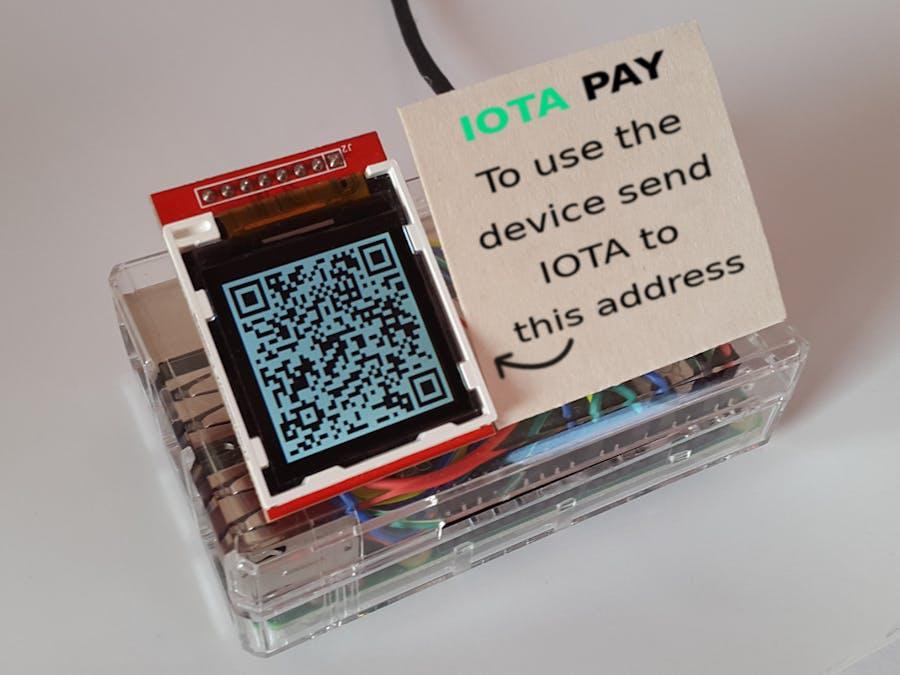 IOTA Pay Raspberry Pi