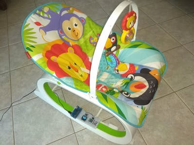 IOTA Powered Baby Rocker