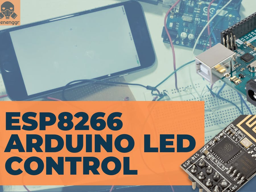 Control LED using ESP8266 Wifi module and iPhone/Android | W