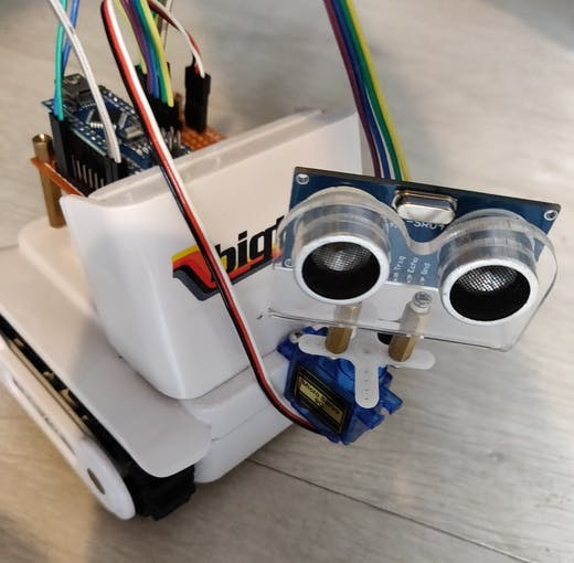 Front of completed robot