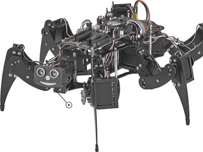 Robobug / Hexapod Walking and Avoiding Obstacles