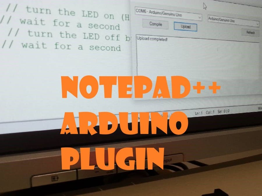 Notepad++ Arduino CLI Plugin