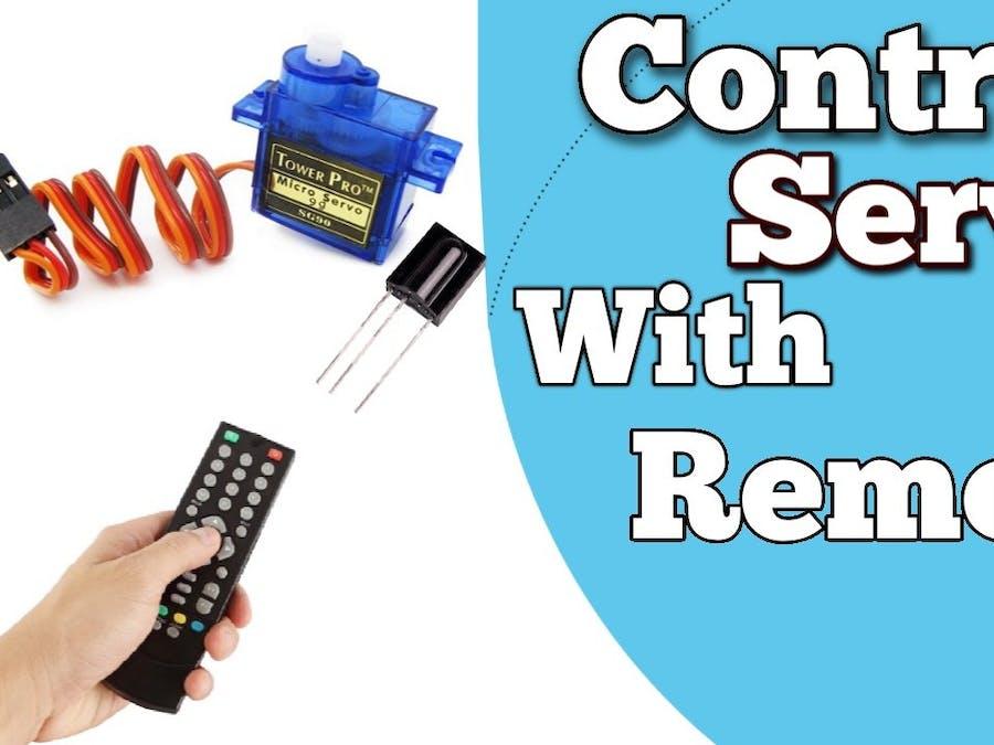 Servo Motor Control with Remote