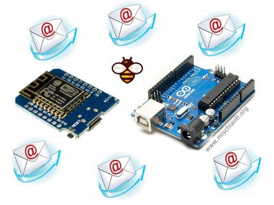Send Email with ESP8266 and Arduino