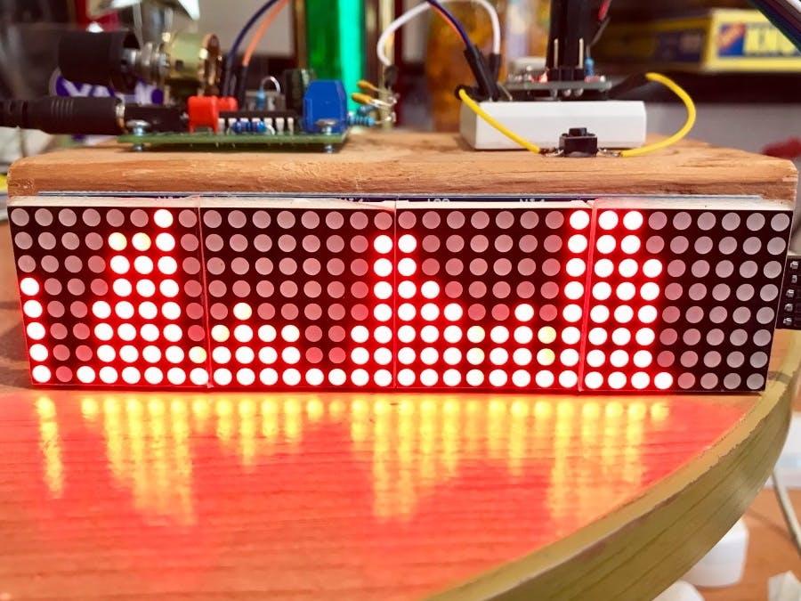 32-Band Audio Spectrum Visualizer Analyzer