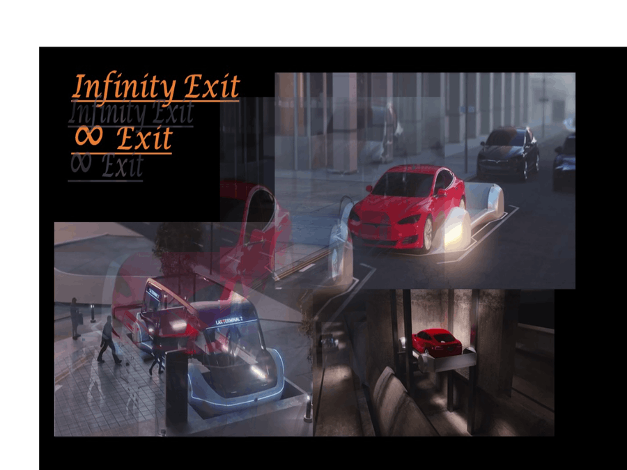 Infinity Charge ∞ Infinity Exit