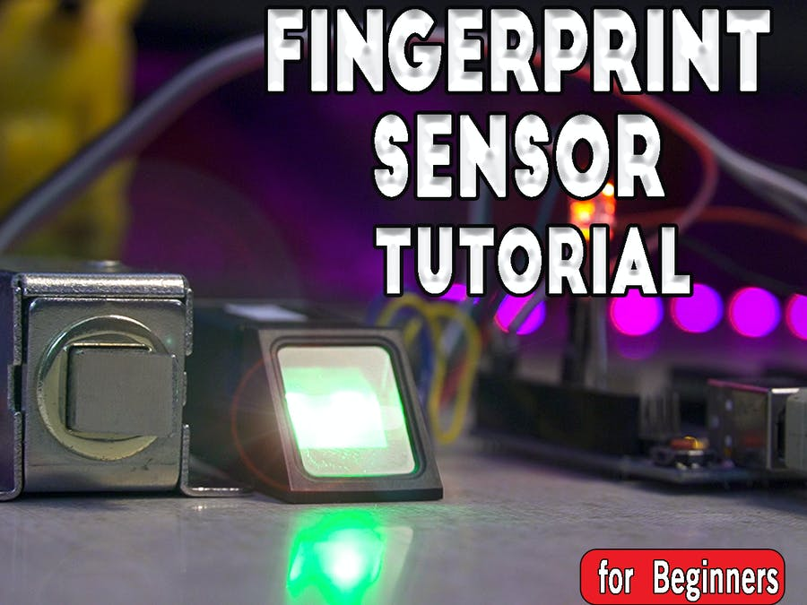 How to Set Up Fingerprint Sensor With Arduino