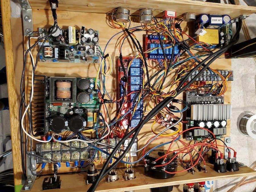 2x260W@4ohm Audio Amplifier
