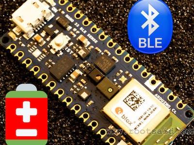 Arduino Nano 33 Sense | BLE Battery Level Tutorial