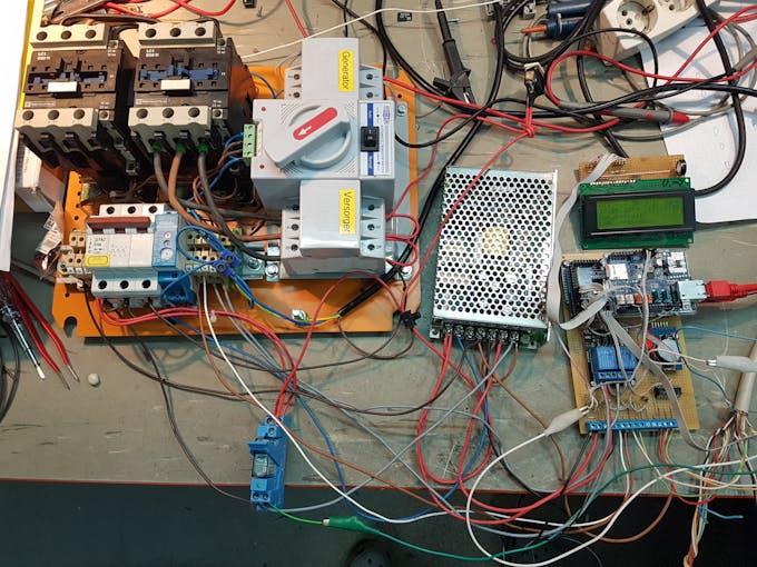 Control of the contactors