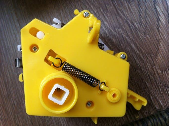 Figure 1: Pie Face mechanics module