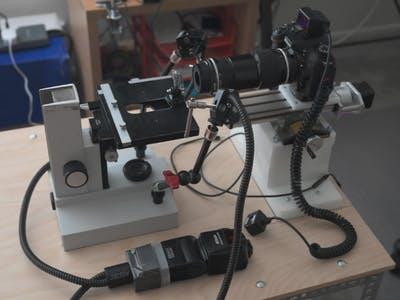 Matlab/Arduino-Controlled Macro Rail for Macrophotography