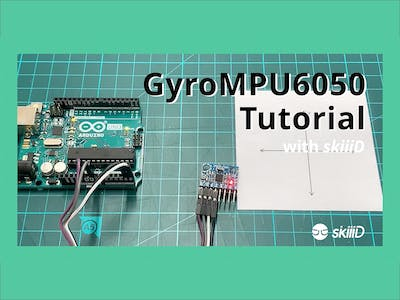 "How to Use Gyro Sensor MPU6050 with ""skiiiD"""