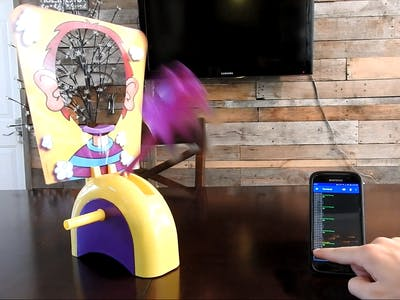 Control Pie Face Wirelessly with Your Phone!