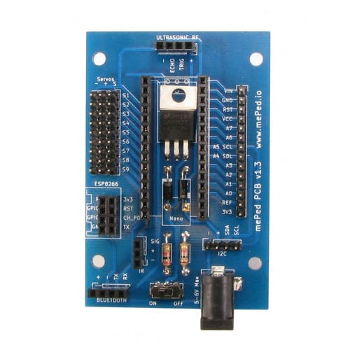 The Meped Arduino Robot Board