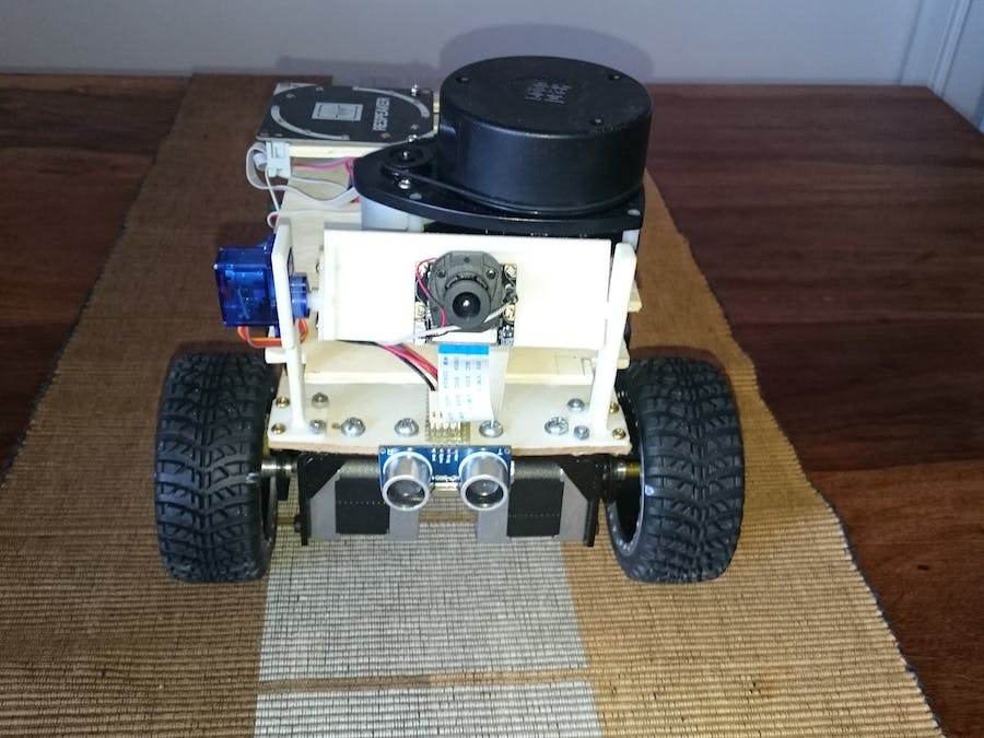 Gizmo, the App and Voice Controlled Robotic Vehicle